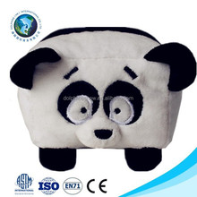 2015 Promotional cute panda plush toy mobile phone holder cheap soft stuffed animal cell phone holder