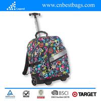 2015 New design Full printing trolley rucksack