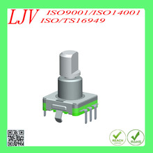 push on switch 360 degree encoder for volume adjustment and switching on radio