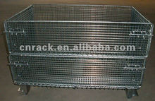 storage collapsible steel wire mesh cage