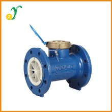 LXL 80mm to 200mm brass ball valve water current meter