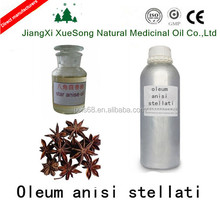 Wholesale 100% Natural Star Anise Extraction Essential Oil with 85% Anethole