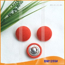 Custom Fabric Button Covers of new product for Garment BM1255