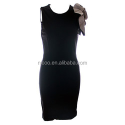 ladies short tight dress roman knitted dress