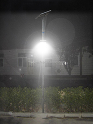 8w outdoor led solar street light with 25w solar panel for village