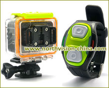 New 5Mega 1080P Sports Action hd Camera with 30m waterproof function