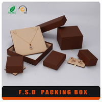 modern desgign plating faux leather pen gift box