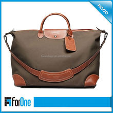 China new leather travel bag