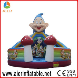 Jumping bounce slide,inflatable fun slide for kids