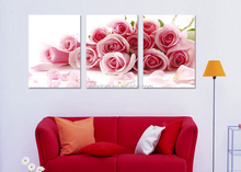 Characteristic art colorful China rose oil painting