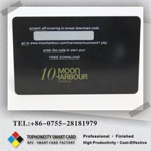Ntag 203 213 tarjetas inteligentes impreso plástico PVC etiquetas RFID pasivas 13.56 Mhz