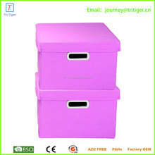 Household essential wholesale Container Bins Non-Woven Storage Boxes