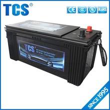 JIS standard long life mf auto car battery 12v 150ah