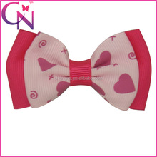 Wholesale Bow Tie Hair Bow with Single Fork Clip, 2..6 inch Layers Decorative Patterned Mini Bow Ties for Hair Dress