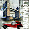 2013 Promotional Abstract London city painting on canvas, theme of abstract items,cityscape, landscape,Seascape, flora, people