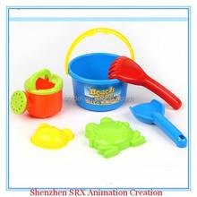 customized sand pit tools spade rake molds buckets kids beach play sets summer toys, plastic beach toys summer toys production
