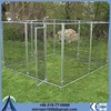 Chain Link or galvanized comfortable puppy cage