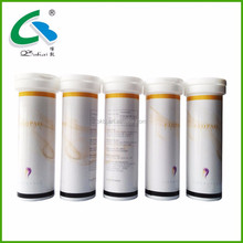 The GMP Certified Manufacturer of Chinese Herbal Soy Extract Isoflavones Effervescent Tablet