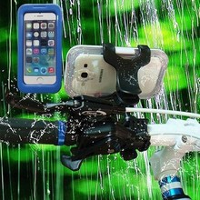 IPX8 Beach Bag for iPhone 4/4S/5/5S, 100% Waterproof Compatible with 5C, 8M Diving Smart Phone Cover, PC+PET+TPU+ Silicone
