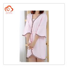 100% Bamboo lace patten night shirt for women