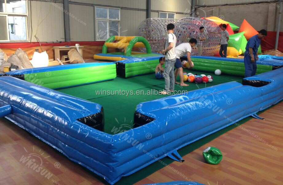 inflatable snookball table 2
