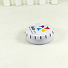 High quality small round candle small tins