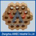 37 Holes Honeycomb Refractory Brick
