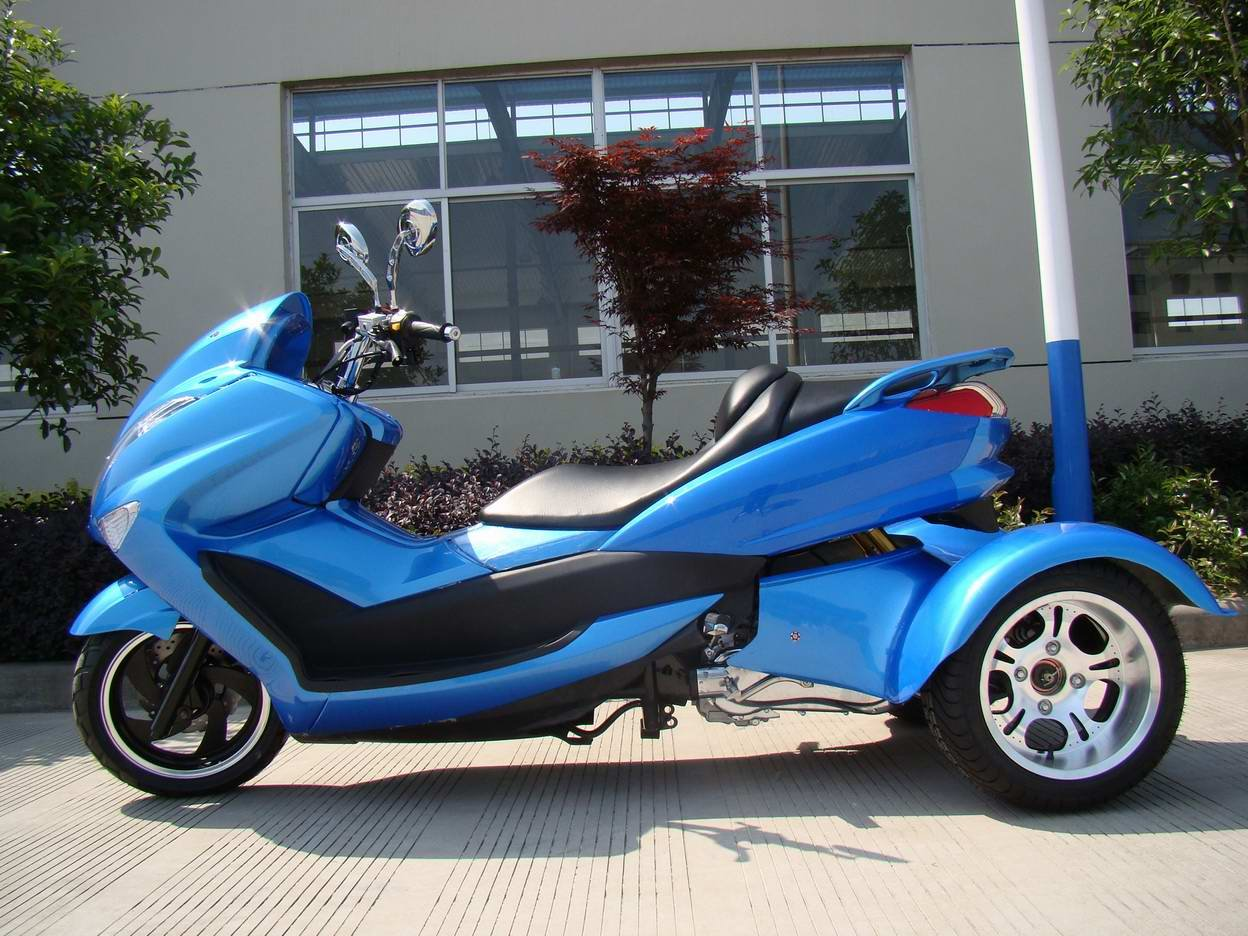 200cc eec three wheel scooter for 3 wheel motor scooter for sale