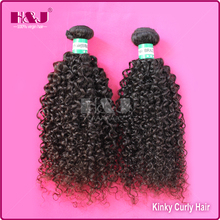 H&J New Item Top Quality Remy Fake Kinky Curly Brazilian Hair
