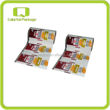 automatic food packaging laminated film roll,roll film for food packaging