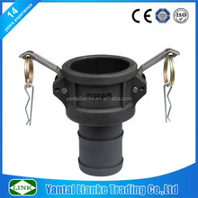 plastic locking camlock coupling ,female coupler x hose shank cam lock fittings