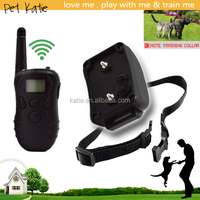 300M Waterproof Electric Pet Training Remote Shock Collar for Small Dogs