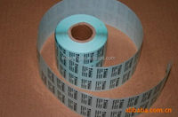 Cheap manufacture bopp roll adhesive sticker labels