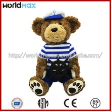High quality Teddy bear custom stuffed plush toy TD1201-16