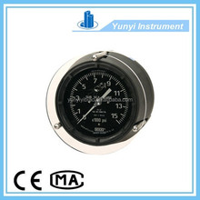 bourdon tube type pressure gauge