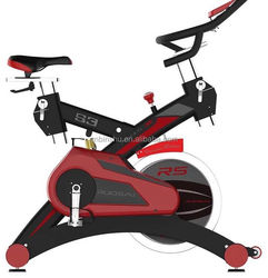 2015 new design spinning bike with 18kg flywheel