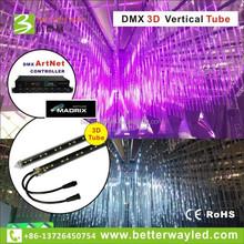 DJ night club bar DMX 3D led meteor light led falling star light, Artnet and Madrix Compatible 1m 16pixels