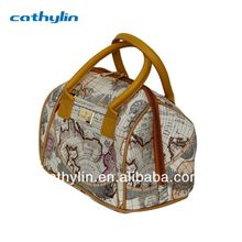 Oxford Fabric Material Plastic Laptop Trolley Travel Bags