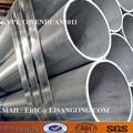 Pre ms galvanizado tubo quadrado/gi tubo de revestimento de zinco:> 50g/m2