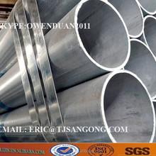 Pre galvanized MS square tube/gi tube Zinc coating: >50g/m2
