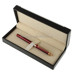 2016 Spring arrival pen gift box with custom logo made in Dongguan
