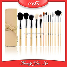 13Pcs High Quality Natural Goat Hair Makeup Brushes Set Facial Cosmetic Tools For Fashion Beauty