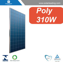 Best price 310w polycrystalline silicon solar panel connect to grid tie inverter with MPPT home used for solar power plants