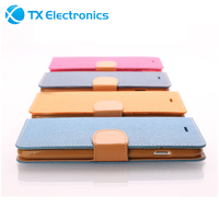 for iPhone 6s Leather Case , High Quality Wallet Stand Flip Leather Case for Apple iPhone 6s 4.7 inch with Credit Card Solt