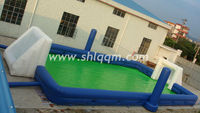 Cool games new inflatable soccer field for sale
