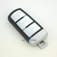 Hot sale keyless entry key 433Mhz 3C0 959 752 BA for VW magotan 3 button smart key