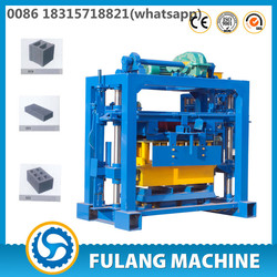 Semi-automatic small fly ash brick making machine cost for small scale