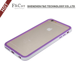 Colorful TPU soft bumper frame case for iphone 6 plus , for iphone 6 plus TPU bumper frame case