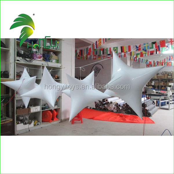 inflatable star with led light  (3)
