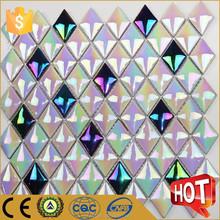 Foshan proveedor barato rhombus purple cerámica del azulejo del mosaico HT3996